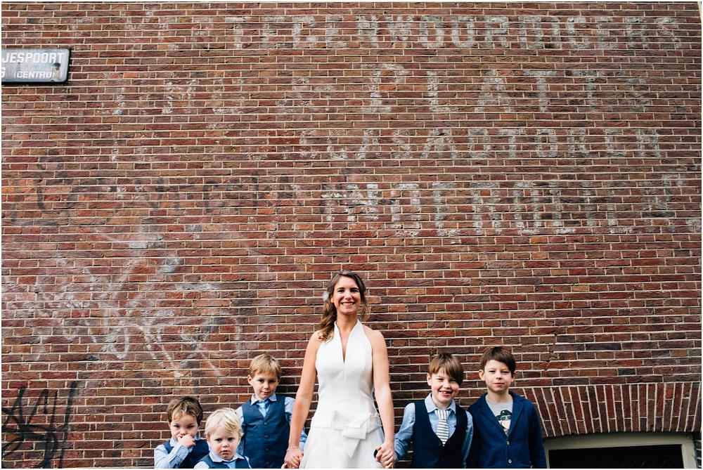 Amsterdam huwelijkstfotograaf trouw Noorderlicht