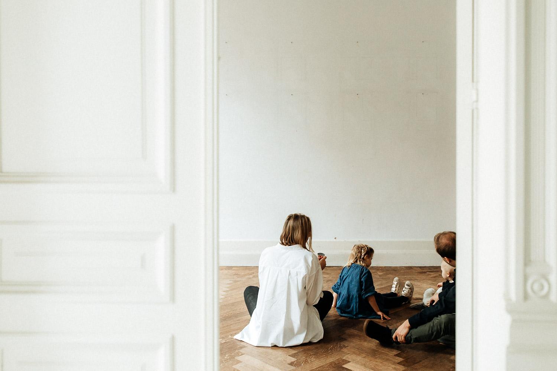 creatieve gezinsfotograaf