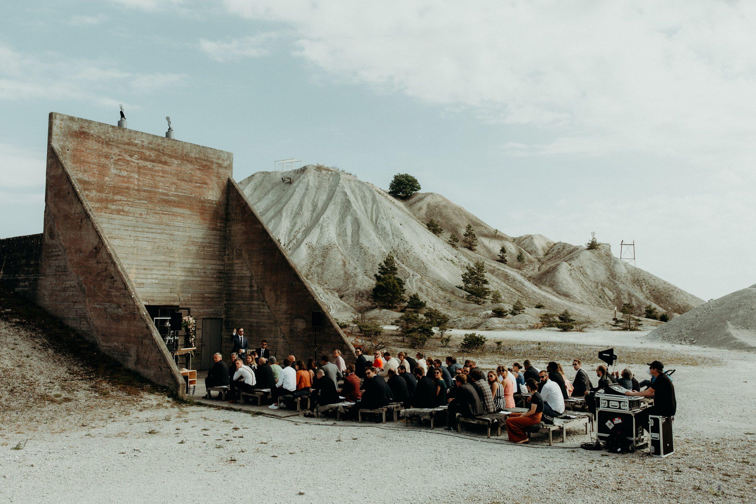 wedding ceremony fabrieken furillen Gotland sweden